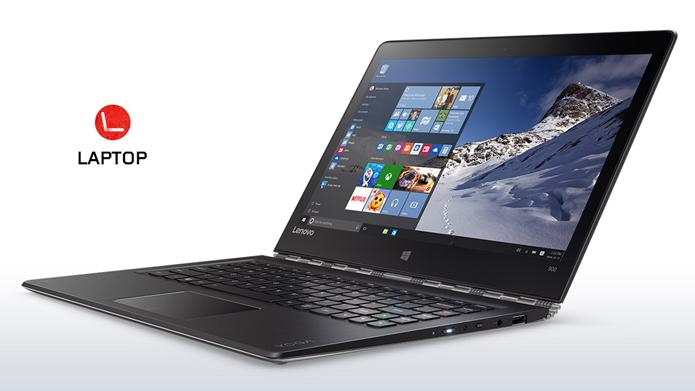 Lenovo Yoga 900 substitui o Yoga Pro 3 com mais bateria e processadores melhores (Foto: Divulgação/Lenovo)