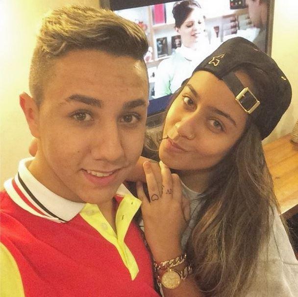 Irmã de Neymar, Rafaella Santos e fã (Foto: Instagram / Reprodução)