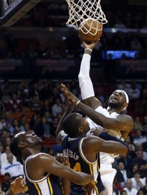 LeBron James, Miami Heat - AP (Foto: AP)