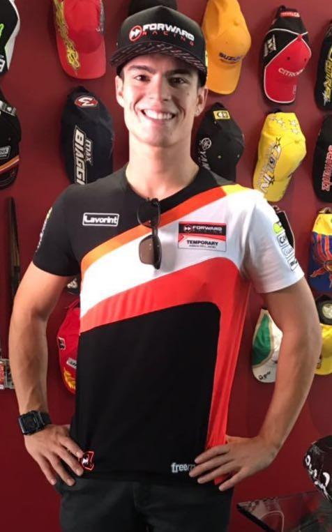 BLOG: Mundial de Motovelocidade - Comunicado Oficial: Eric Granado na Forward Racing Moto2 - O Brasil está de volta ao Mundial!