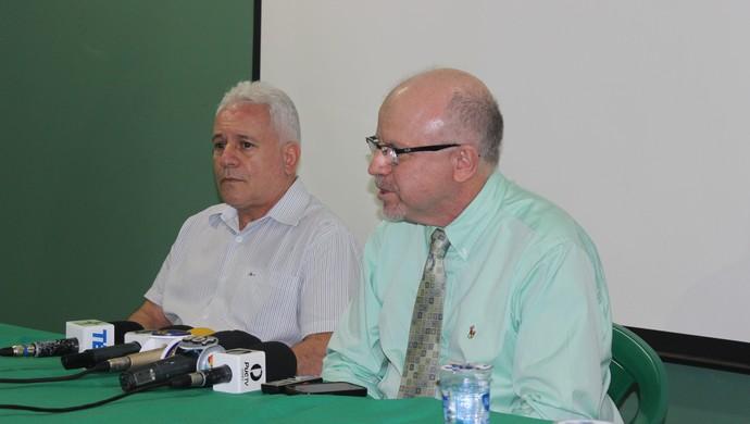 Paulo Lopes e Sérgio Rassi - Goiás (Foto: Fernando Vasconcelos / Globoesporte.com)