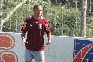 Leandro Silva; lateral-direito do América-MG (Foto: Gabriel Duarte)