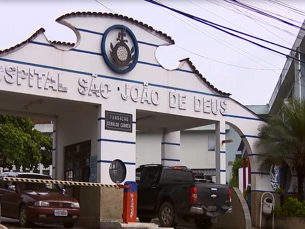 HSJD Divinópolis (Foto: Reprodução/Tv Integração)