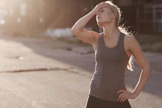 mulher cansada eu atleta (Foto: Getty Images)