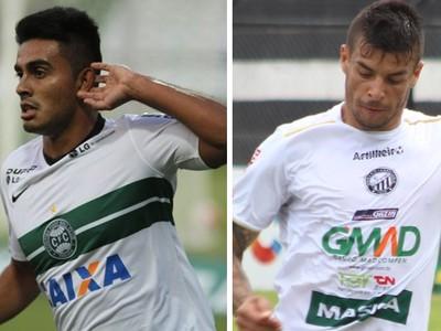 Raphael CORITIBA x Douglas OPERARIO-PR (Foto: infoesporte)