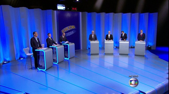 Debate entre os candidatos ao governo do SP - Parte 2