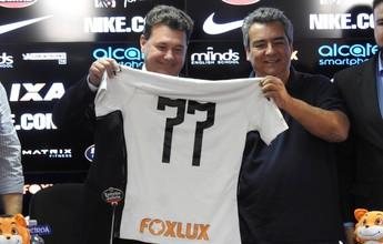 Corinthians mostra novo patrocínio e diretor projeta renovação com a Caixa