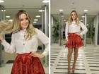 Claudia Leitte nega que tenha dado vestido de presente para Jennifer Lopez