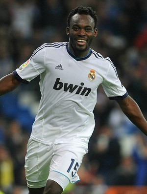 Essien Real Madrid (Foto: Getty Images)