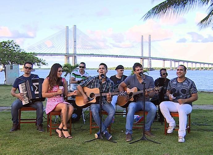 Luís Fernando e Manuel (Foto: TV SERGIPE)
