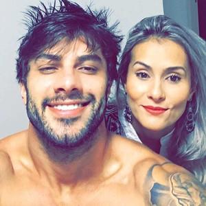 Renan e Cinthia reataram namoro (Foto: Arquivo Pessoal)