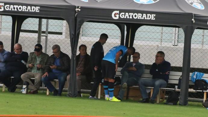 Maicon Márcio Bolzoni Grêmio (Foto: Eduardo Moura/GloboEsporte.com)