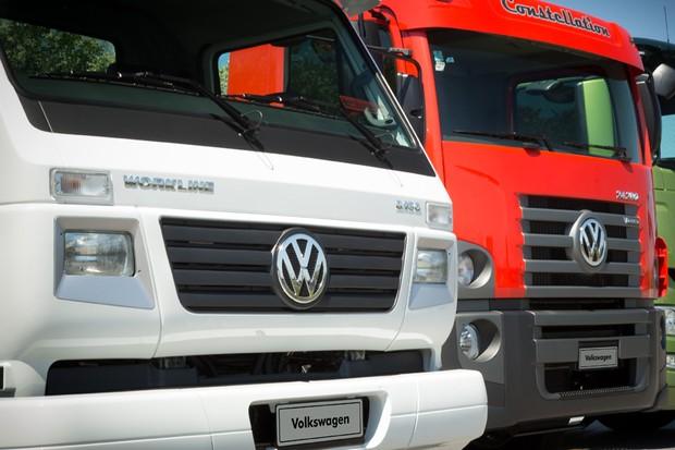 Caminhões Volkswagen (Foto: Divulgação)