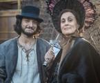 Márcia Cabrita com César Cardadeiro nas primeiras cenas deles em 'Novo Mundo'   Globo/ Paulo Belote