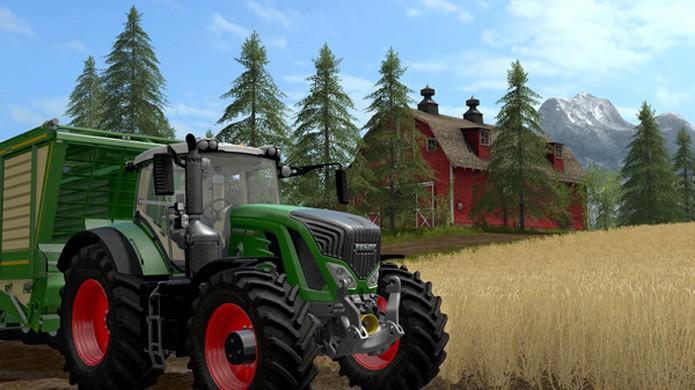 Farming Simulator 2017 trará muitas novidades, entre elas suporte a mods no PlayStation 4 e Xbox One (Foto: Reprodução/Steam)