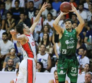 Brasília x Bauru Léo Meindl Deryk (Foto: Caio Casagrande / Bauru Basket)