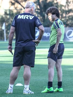 Luan; Atlético-MG; Rodolfo Mehl (Foto: Bruno Cantini/CAM)