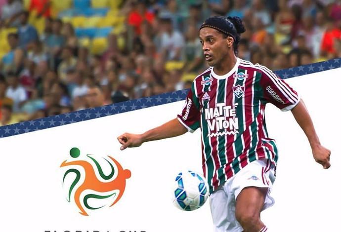 Ronaldinho Gaúcho - Florida Cup (Foto: Reprodução/ Facebook)