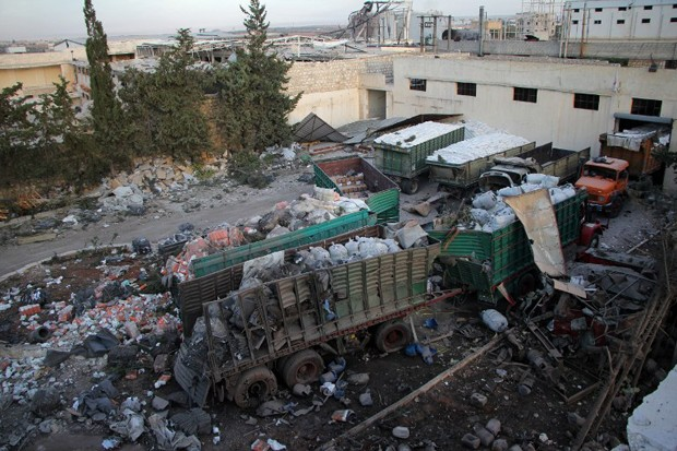 Resultado de imagem para ataque a comboio na siria