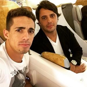 Neto Berola, e o empresário Giuseppe Dioguardi (Foto: Reprodução/Instagram)