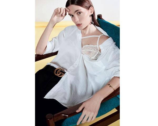 A tradicional camisa ganha novo charme (Foto: Fotos Josefina Biatti / Styling George Krakowiak)