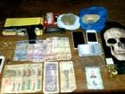 Trio é preso com droga, arma e notas de bolívar em Itapiranga, diz PM-AM