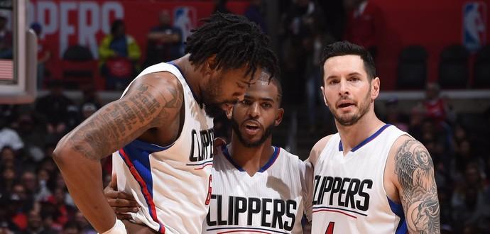 Los Angeles Clippers x Charlotte Hornets, NBA, basquete (Foto: Reprodução/Twitter)