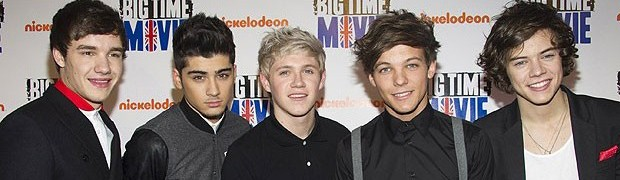 A boy band britânica One Direction posa em evento em 2012 (Foto: Charles Sykes/AP)