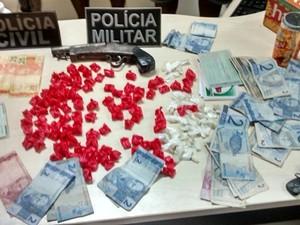 Esquema de tráfico de drogas é desarticulado no nordeste do PA (Foto: Divulgação/Polícia Civil)
