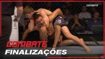 Jake Matthews vence Vagner Rocha por finalização no segundo round, em 2014