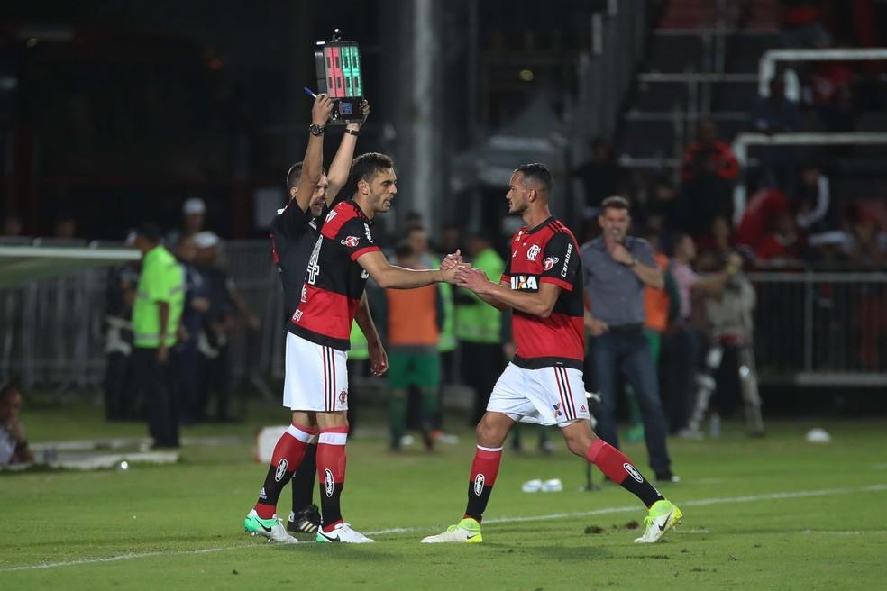 Réver não se recfupera e Rhodolfo será titular (Foto: Gilvan de Souza/Flamengo)