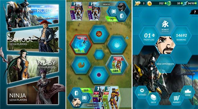 Dengen Chronicles é um jogo RPG para Windows Phone com batalhas onlines e contra o smartphone (Foto: Divulgação/Windows Phone Store)