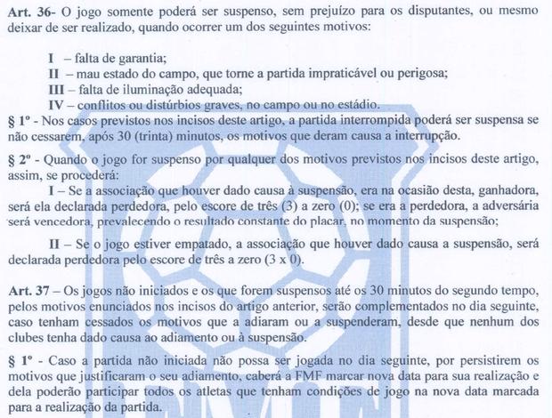 Regulamento do Campeonato Mato-grossense (Foto: Divulgação)