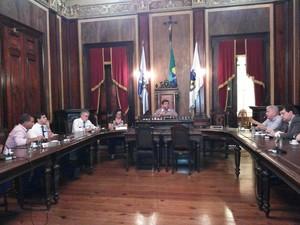Informação foi passada à Câmara dos Vereadores (Foto: Divulgação/Ascom CMP)