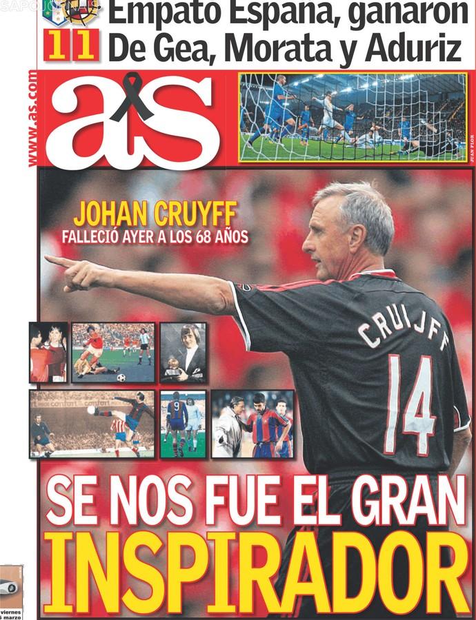 Capa AS Cruyff (Foto: Reprodução)