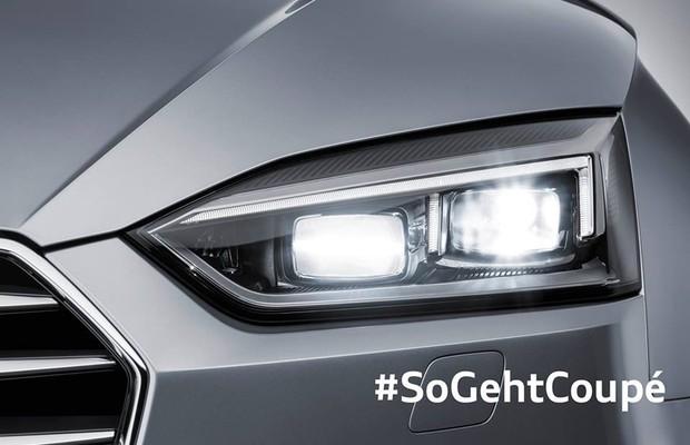 Teaser do Audi A5 Coupé (Foto: Divulgação)