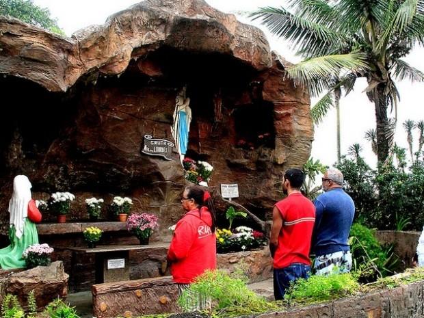 Gruta é um dos pontos turísticos mais visitados de Itanhaém (Foto: Divulgação / Prefeitura de Itanhaém)