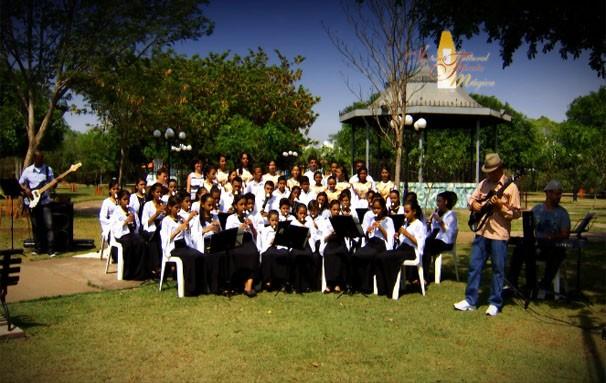 Instituto Flauta Mágica conta com o apoio da TV Centro América. (Foto: Reprodução/TVCA)