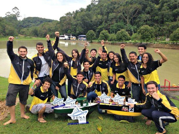 Equipe conquistou primeiro lugar em competição (Foto: Divulgação/ UEA )