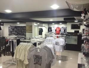 Nova loja do Botafogo-PB, Belomania (Foto: Divulgação / Belomania)