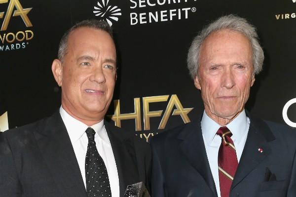 Tom Hanks e Clint Eastwood (Foto: Getty Images)