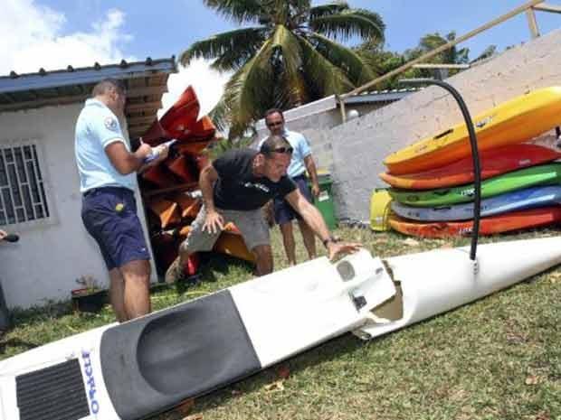 Em 2011, Jean-Paul Castellani escapou ileso de um ataque de tubarão na costa do cabo La Hossaye, em Saint-Paul de la Réunion, no departamento francês de Reunião, no Oceano Índico.  (Foto: AFP)