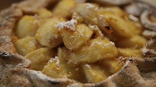 'Gordon Ramsay' - Torta de pera com gengibre - Episdio 12 - Receitas em Famlia (Foto: Divulgao)