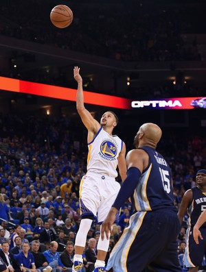 Stephen Curry - Golden State x Memphis - nba basquete (Foto: Getty Images)