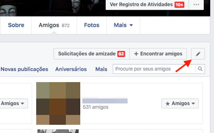 Habilitando as opções para edição de privacidade da lista de amigos do Facebook (Foto: Reprodução/Marvin Costa) (Foto: Habilitando as opções para edição de privacidade da lista de amigos do Facebook (Foto: Reprodução/Marvin Costa))