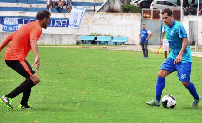 Taubaté x Atibaia jogo-treino (Foto: Bruno Castilho/EC Taubaté)