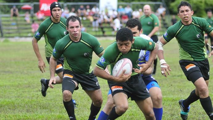 Grua - rugby Manaus (Foto: Antônio Lima/Semdej)