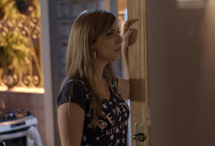 Marisa é pega de surpresa com pergunta de Gui (Foto: TV Globo)