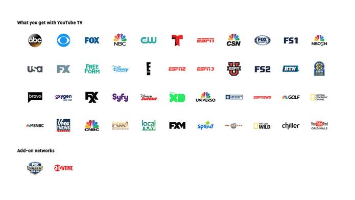 A YouTube TV tem aplicativo para controlar todo conteúdo  (Foto: Reprodução/Google)