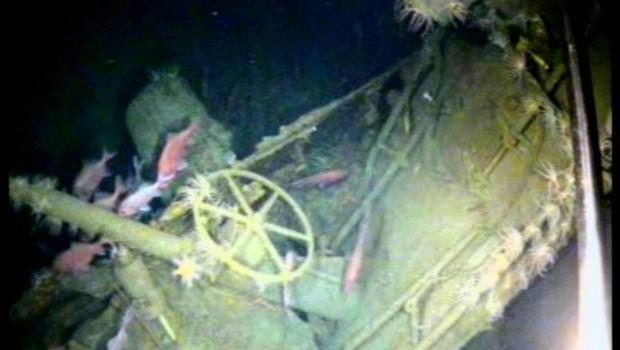 O primeiro submarino aliado afundado na 1ª Guerra (Foto: Fugro Survey / Departamento de Defesa da Austrália )